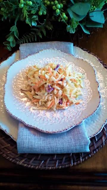Creamy Country Coleslaw