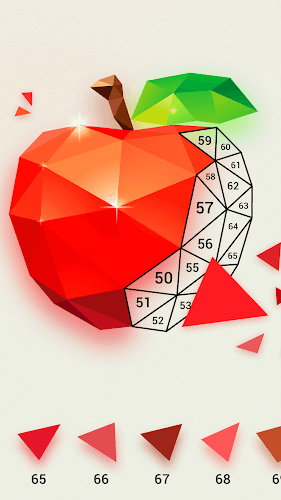 LoPoly –  Puzzle art game Android App Screenshot