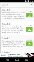 Screenshot of LearnEnglish Podcasts