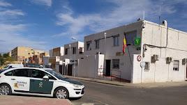 Actual puesto de la Guardia Civil en Huércal de Almería.