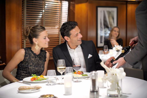 Your sommelier will guide you to the right wine pairings during dinner on Le Ponant.