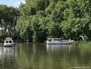 Photo: Le vieux canal à Briare