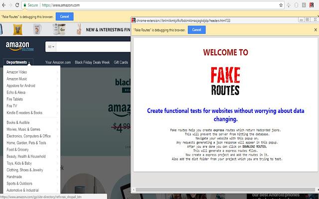 Fake Routes