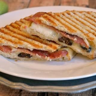 Bacon, Pear and Fig Panini Recipe