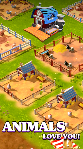Happy Town Farm: Farming Game apkmr screenshots 4