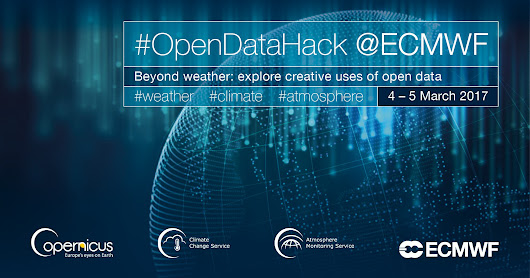 #OpenDataHack @ECMWF March 4-5 2017