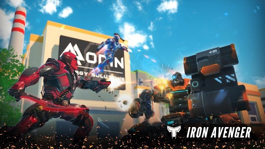 Iron Avenger – Infinite Warfare RPG Apk  Download For Android 1
