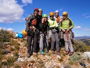 Photo: Cima de Peña Ruaba, tras escalar Tierra de Dragones