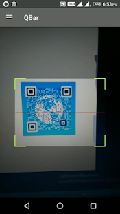 QBar - Qr and Barcode Scanner - náhled