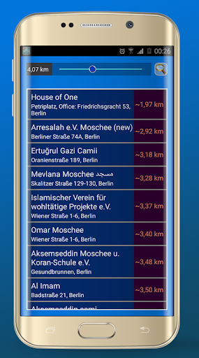 Azan Germany prayer times screenshot 5