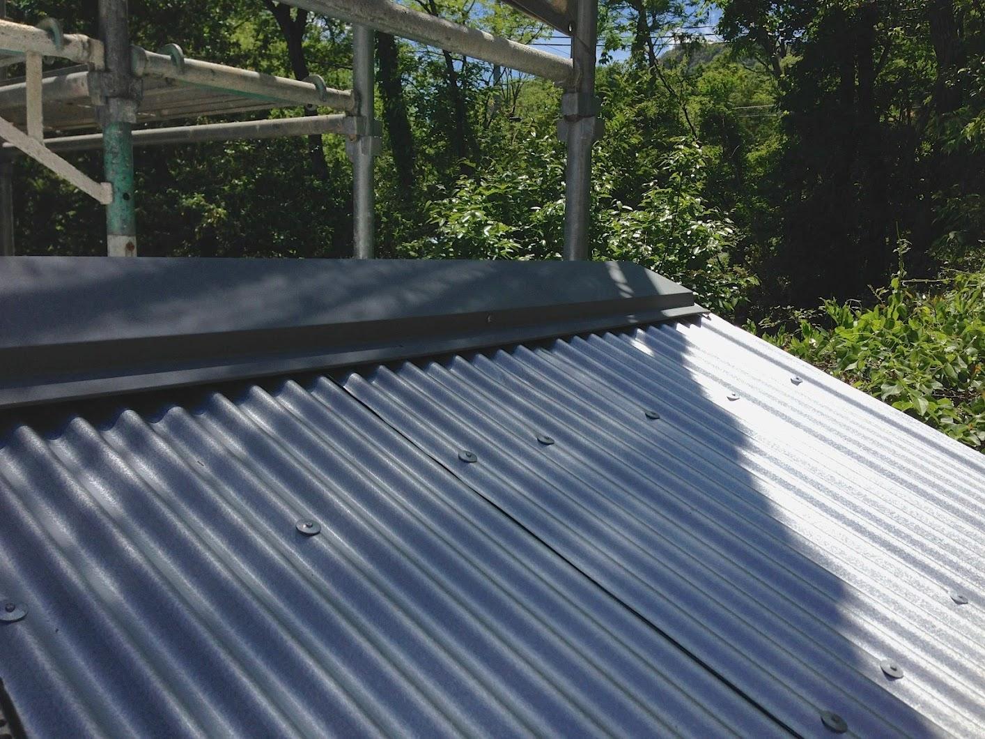 Cedar Shed Gardener Reroofing