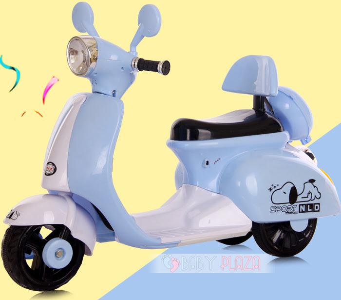 Xe máy điện cho bé Vespa 3279