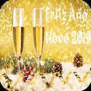 Mensagem de Feliz ano novo 2019 cartões saudações