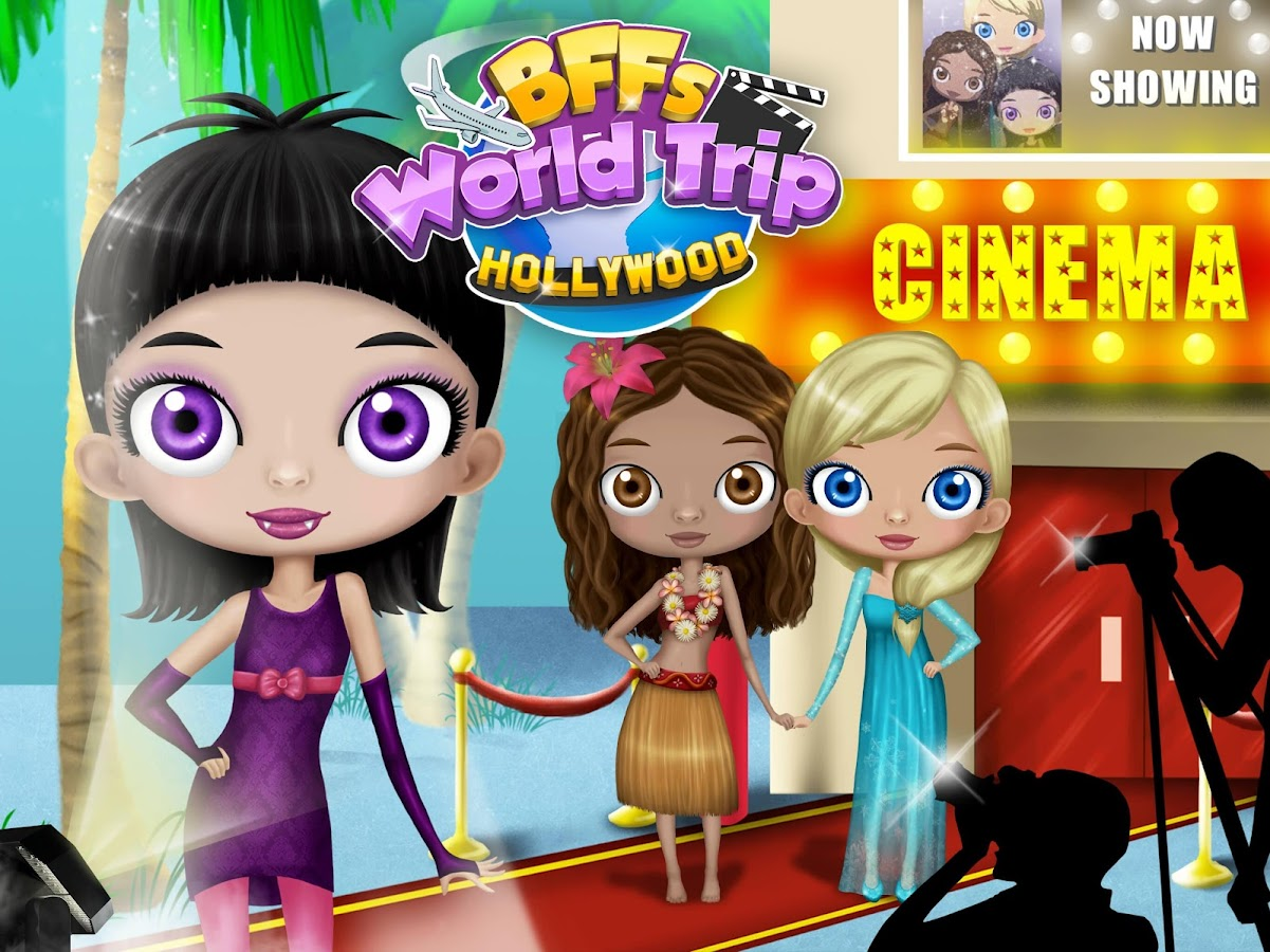 BFF World Trip Hollywood- screenshot