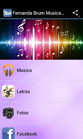 android Fernanda Brum Musica & Letras Screenshot 0