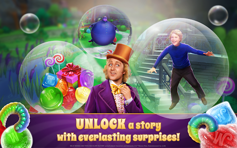Willy Wonka's Sweet Adventure – A Match 3 Game 3