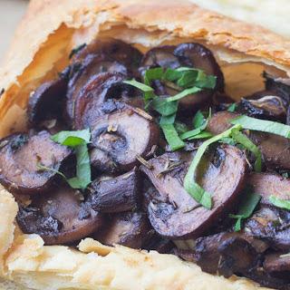 Savory Mushroom Tart [Vegan] Recipe