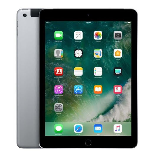 iPad 5:E Generation LTE/4G Space Grey 32GB (B)