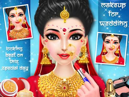 Indian Wedding MakeoverMakeup And Dressup Part 2 Screenshot Thumbnail