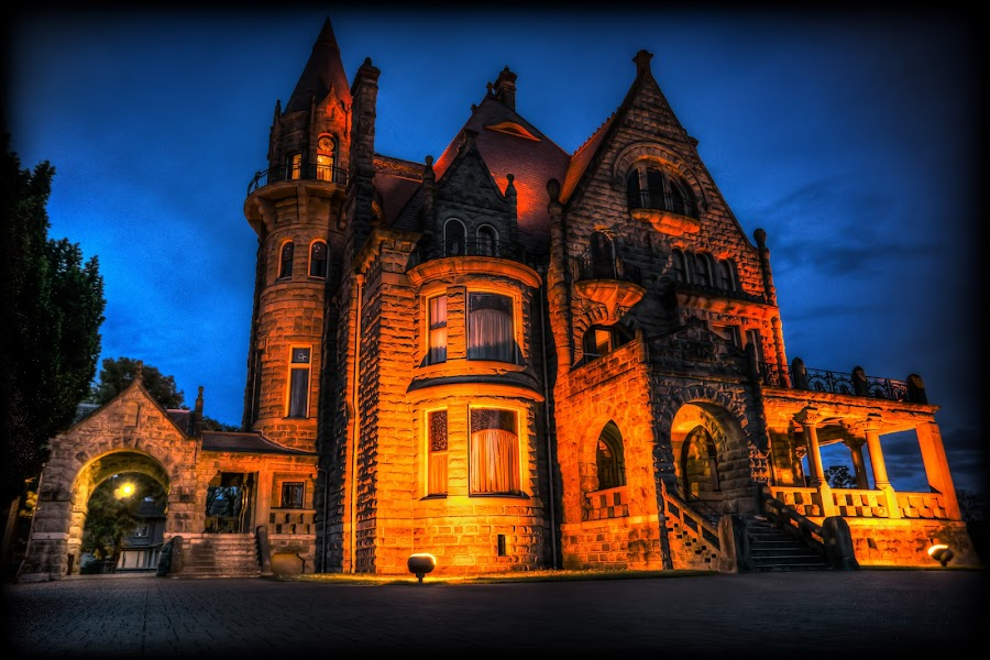 Haunted by Keith Boone - City,  Street & Park  Historic Districts