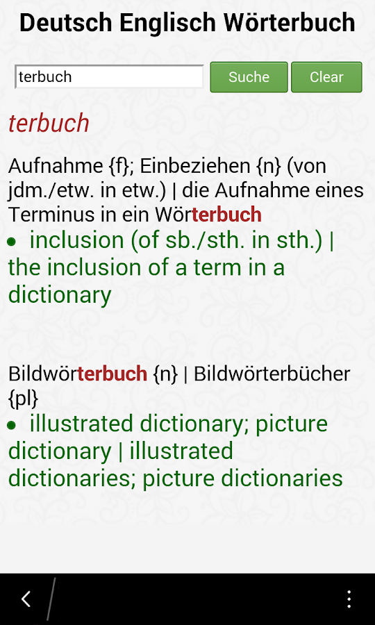 how to change google to english from german