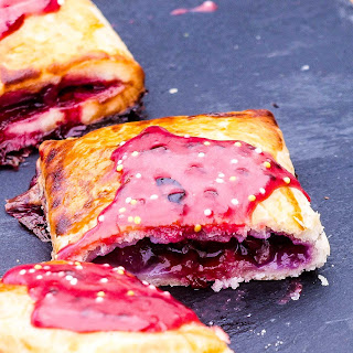 Busting Berry Pop Tarts.