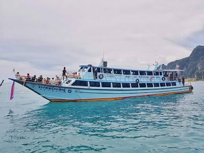 Travel from Phuket to Koh Lanta by ferry