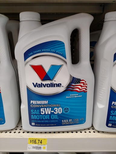 High Value $6/2 Valvoline Oil.