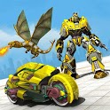 Deadly Flying Dragon Multi Robot Bike Simulator icon