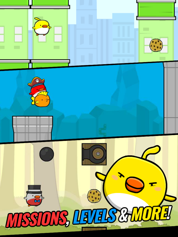 Cookie Bird in City Adventure- screenshot
