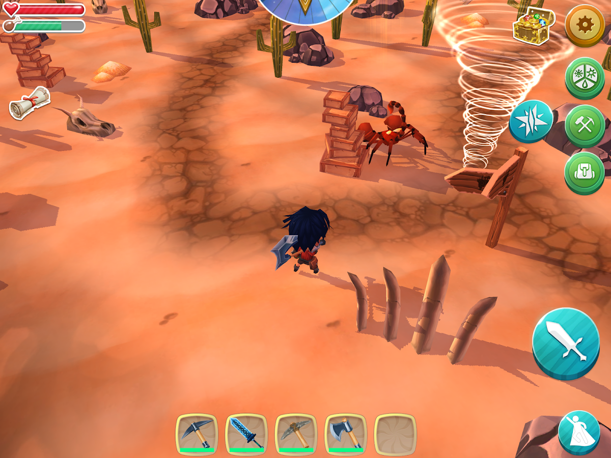 Chibi Survivor Weather Lord- screenshot