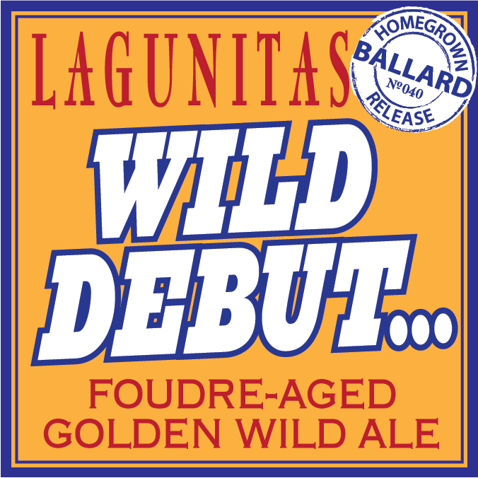 Logo of Lagunitas Wild Debut
