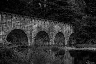 Photo: Northborough Aqueduct Black and White HDR