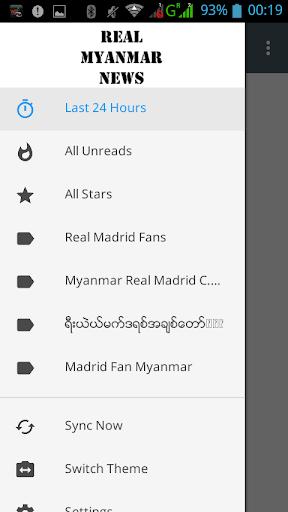 Myanmar Real Madrid Fan