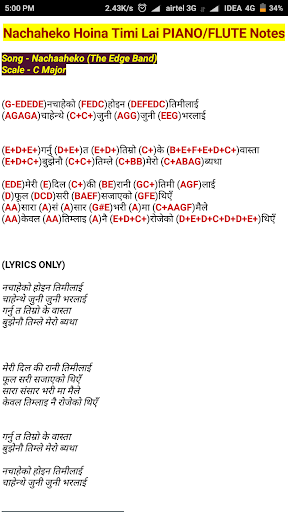 Download Nepali Songs Piano And Flute Notes Free For Android Nepali Songs Piano And Flute Notes Apk Download Steprimo Com Accurate sargamnotes of hindi songs from original scale. nepali songs piano and flute notes apk