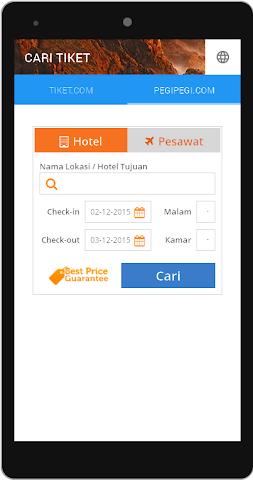 android Cari Tiket Screenshot 4