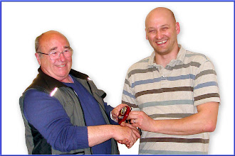 Photo: Tony Brown - Second Club site Coin - presented by Kurt Adams