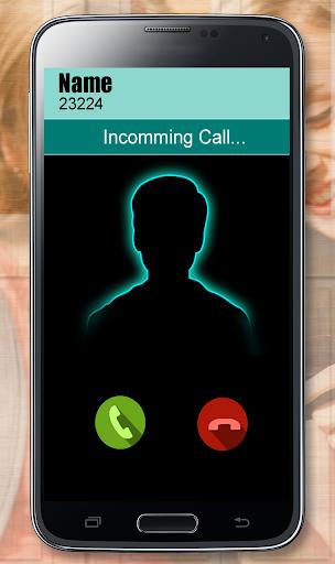 Girl friend fake voice call