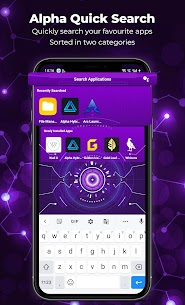 Alpha Launcher: HD Wallpaper | Customize DIY Theme (MOD, Premium) v10.7 2
