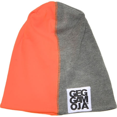Geggamoja Mössa grey/Orange