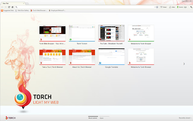 Torch Browser for Windows and Mac Users