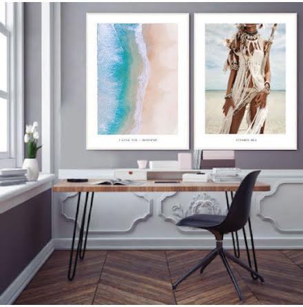 PARPOSTERS -  SALT WATER & BEACH 2 st posters