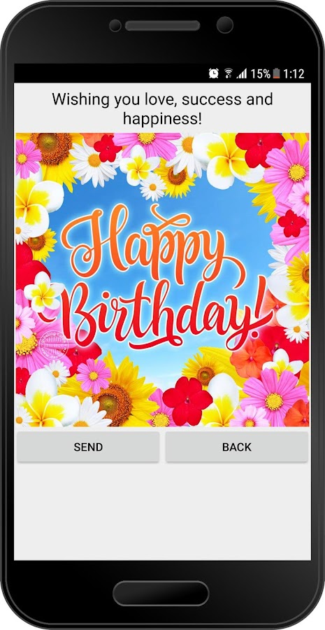 Birthday Card Message For New Friend Suggestions Facebook App Cards Free Android Apps