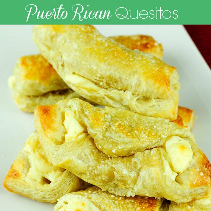 Quesitos Recipe (Puerto Rican Cheese Puff Pastries) Recipe
