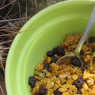 Homemade Fruit and Nut Granola
