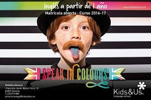 En ingl�s y en colores as� ense�an a hablar en Kids&Us Almer�a