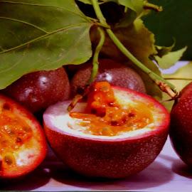 PASSION FRUIT by SANGEETA MENA  - Food & Drink Fruits & Vegetables (  )