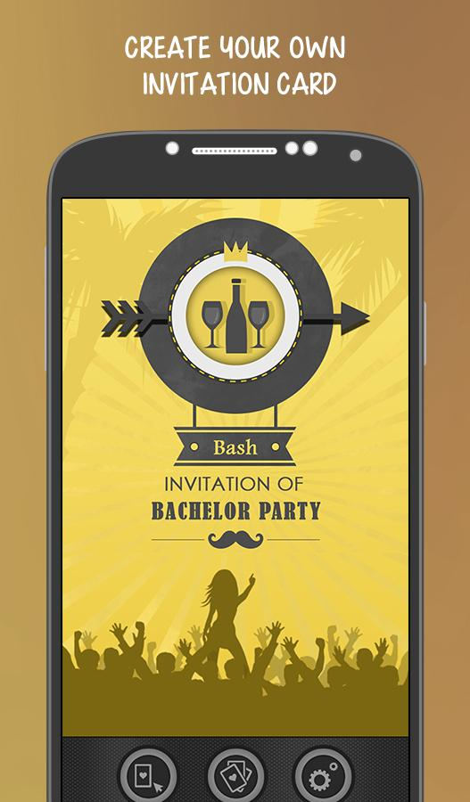 Bachelor Party Invitation Android Apps on Google Play – Party Invitation App