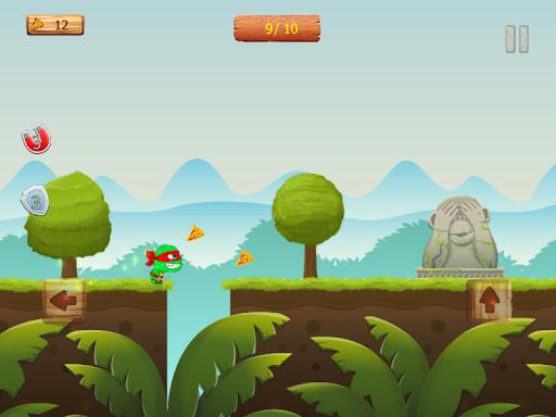 Ninja jump: Mutant kids adventure HD game apkmr screenshots 15