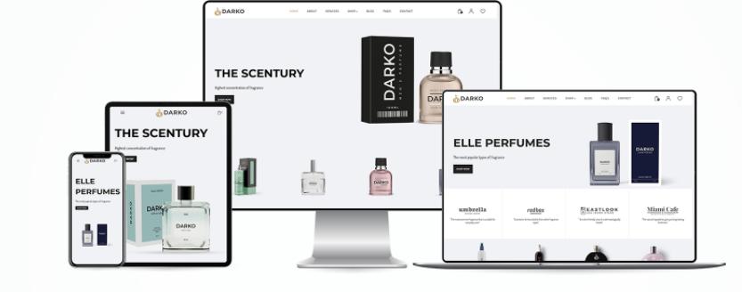 Perfume Shopify theme